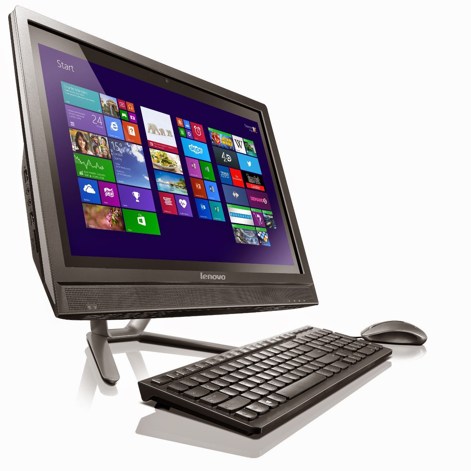 Lenovo IdeaCentre C365 19,5 inci Touchscreen All-In-One Desktop
