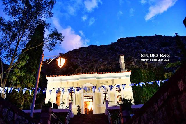 Γιορτάζει ο ιστορικός Δημοτικός Ιερός Ναός του Αγίου Ιωάννου του Θεολόγου στο Ναύπλιο