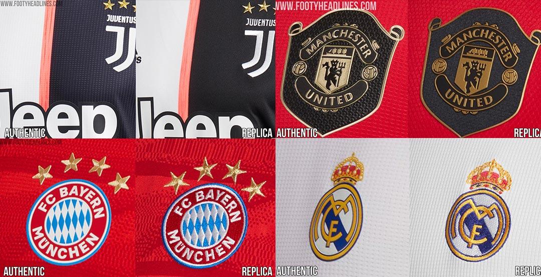 best service 00019 cc4eb Adidas Arsenal, Bayern, Juventus, Man Utd & Real Madrid 19 ...