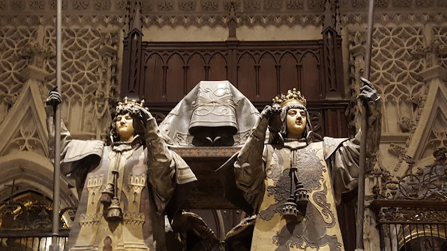 Tumba de Cristóbal Colón, Catedral, Torre de Giralda, Sevilla, Andalucía, España, Elisa N, Blog de Viajes, Lifestyle, Travel