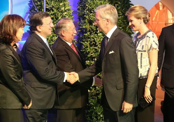 Queen Mathilde attended a gala event to mark the 150th anniversary of Solvay in Neder, newmyroyals