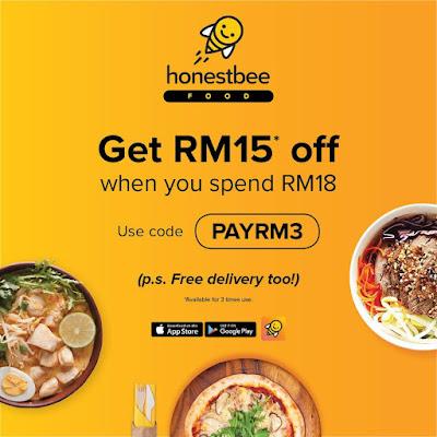 Honestbee promo code discount