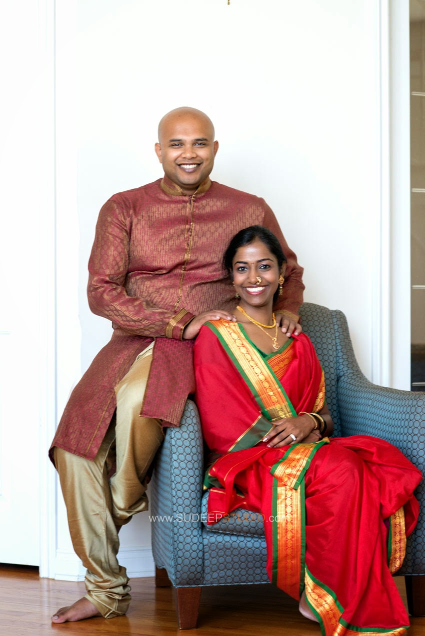 Michigan Indian Wedding Engagement Session - Sudeep Studio.com