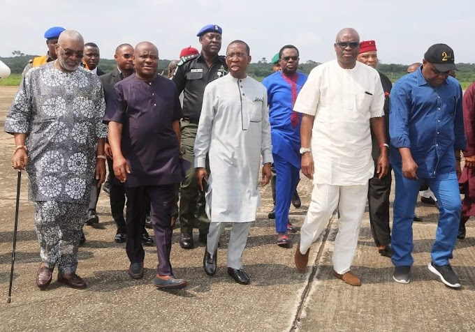 Okowa,Fayose,Wike Consolidate Party Unity *** Assure Of Transparency In Anambra PDP Primaries. ***Welcomes President Buhari Back From Medical Leav