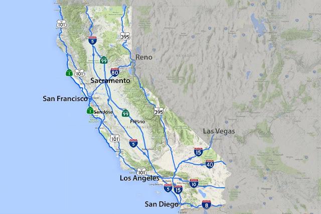 De San Francisco a San Diego pela Highway 1
