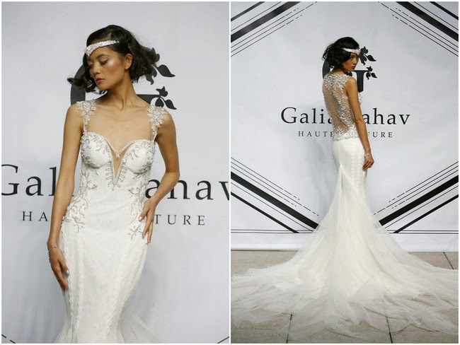 Galia Lahav Autumn / Winter 2015 Collection.