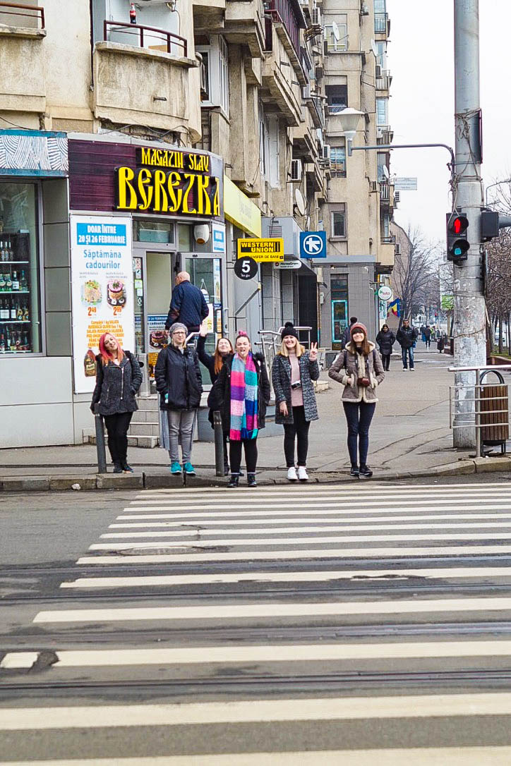 Group travel in Bucharest