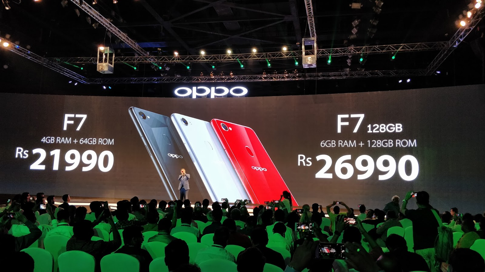 Oppo Launches F7 The Selfie Expert Phone Built With Best Of Ai Samsung Note 101 2014 Edition Garansi Indonesia Black Latest Coloros 50 And Powerful Hardware
