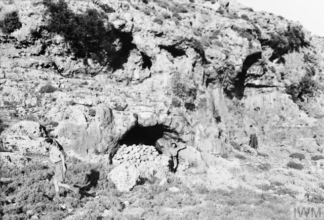 Crete cave British air raid shelter 31 May 1941 worldwartwo.filminspector.com