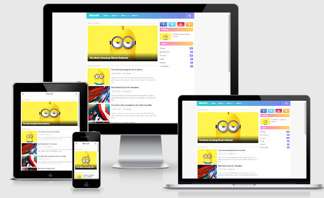 Download Mocca Pro Version Responsive Blogger Template
