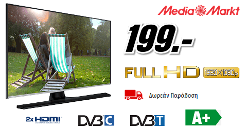 "Samsung TV/Monitor 32"", Full HD, MediaMarkt"