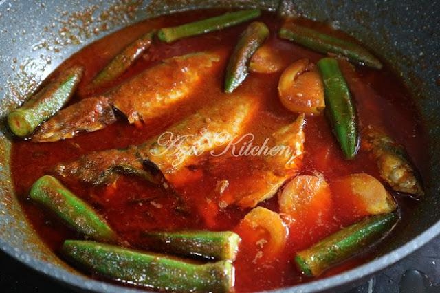 Asam Pedas Nyonya Aka Gerang Asam Chef Florence Tan