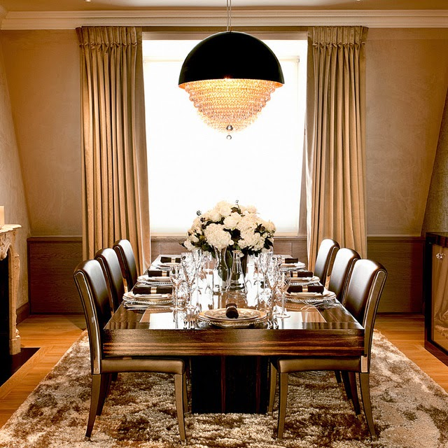 Contemporary Luxury Dining Room