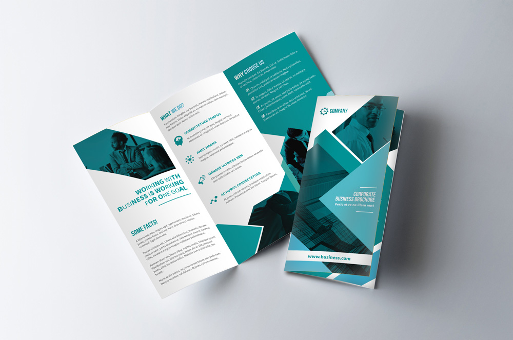 Download Professional Trifold Brochure Mockup FREE   RONOUR DESIGN     Download Professional Trifold Brochure Mockup FREE