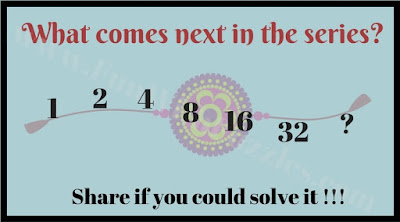 Easy Number Series Puzzle for Kids