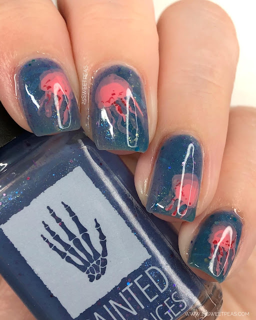 Jellyfish Nail Art 25 Sweetpeas