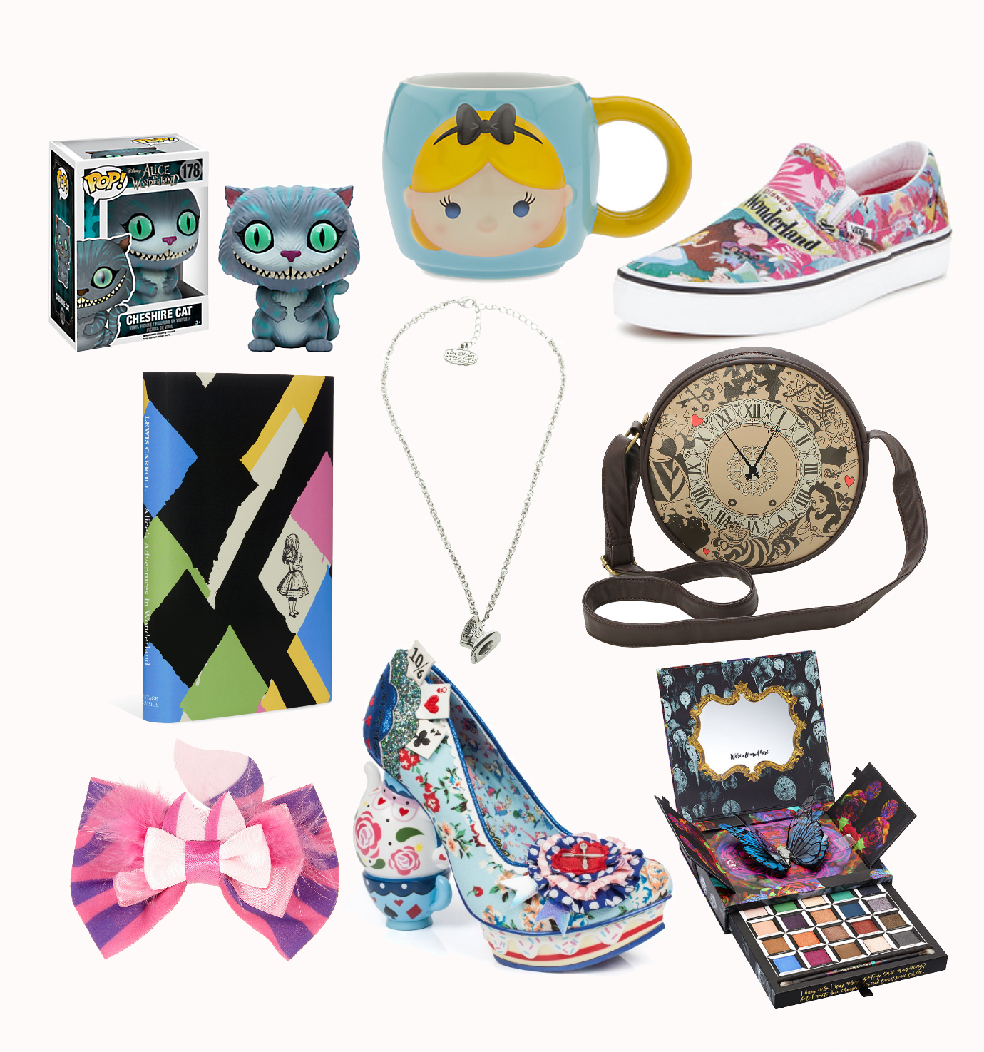 An Alice in Wonderland themed Wishlist