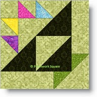 Easter Basket quilt block