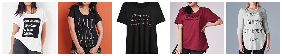 Plus Size Slogan T Shirts, Slogan T shirts, The Style Guide Blog, Simply Be