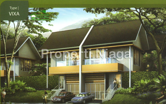 Rumah-Cluster-Viridis-Montis-Hilltop-Tipe-Vixa-Sentul-City