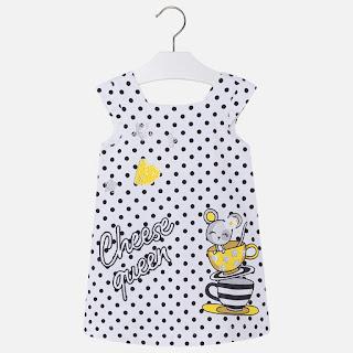 καλοκαιρινό φόρεμα Mayoral  για κορίτσια 2- 9 ετών σε προσφορά