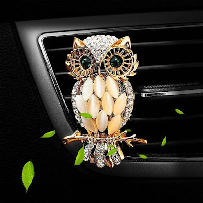Owl Diamond Air Freshener