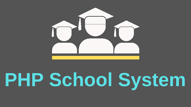 School Management System In PHP