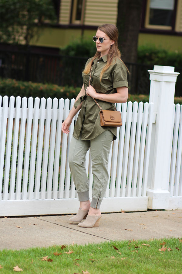 Olive tones for fall