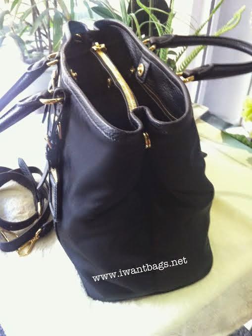 0dbcc15d41d95c I Want Bags backup: Prada BN2527 Tessuto Nylon Tote in Black