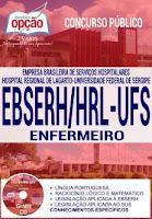 Apostila Concurso EBSERH SE HRL ENFERMEIRO UFS 2016
