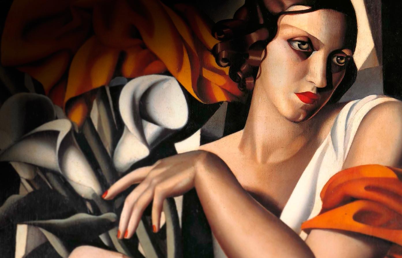 Tamara  de  Lempicka C  Ritratto  di  Madame  Perrot C