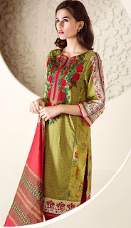 Ethnic Lawn 2016 Summer Collection by Outfitters