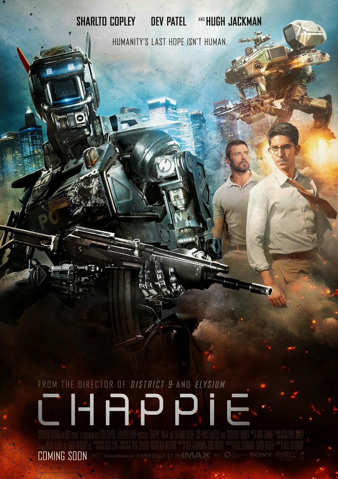 Chappie (2015) แชปปี้ จักรกลเปลี่ยนโลก [HD][พากย์ไทย]
