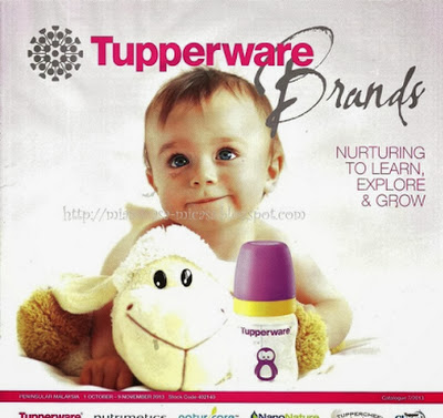 A WONDERFUL WORLD OF TUPPERWARE BRANDS: TUPPERWARE BRANDS 1 OCT--9 NOV 2013
