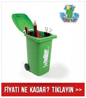 Çöp Konteyneri Kalemlik