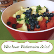 Whatever Watermelon Salad and my Kitchen Confession