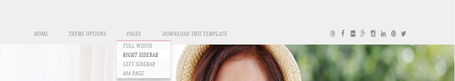 Calmer Fashion Blogger Template Free Download