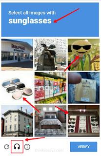 Captcha code image select