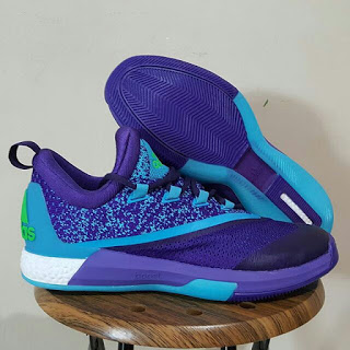 Sepatu Basket Adidas Crazylight Boost 2.5 Purple Premium