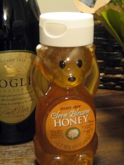 Third item- honey to help you enjoy the sweetness of life