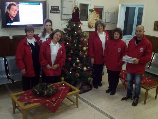 Eορταστικές επισκέψεις του Περιφερειακού Τμήματος Ε.Ε.Σ. Ηγουμενίτσας