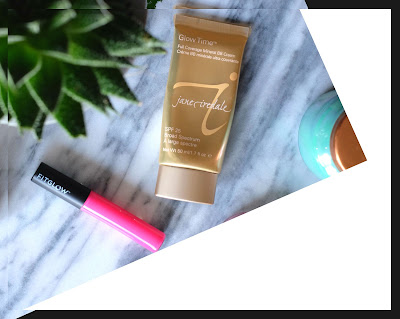 Jane Iredale Glow Time Full Coverage Mineral BB Cream & FitGlow Beauty Good Gloss in Liv