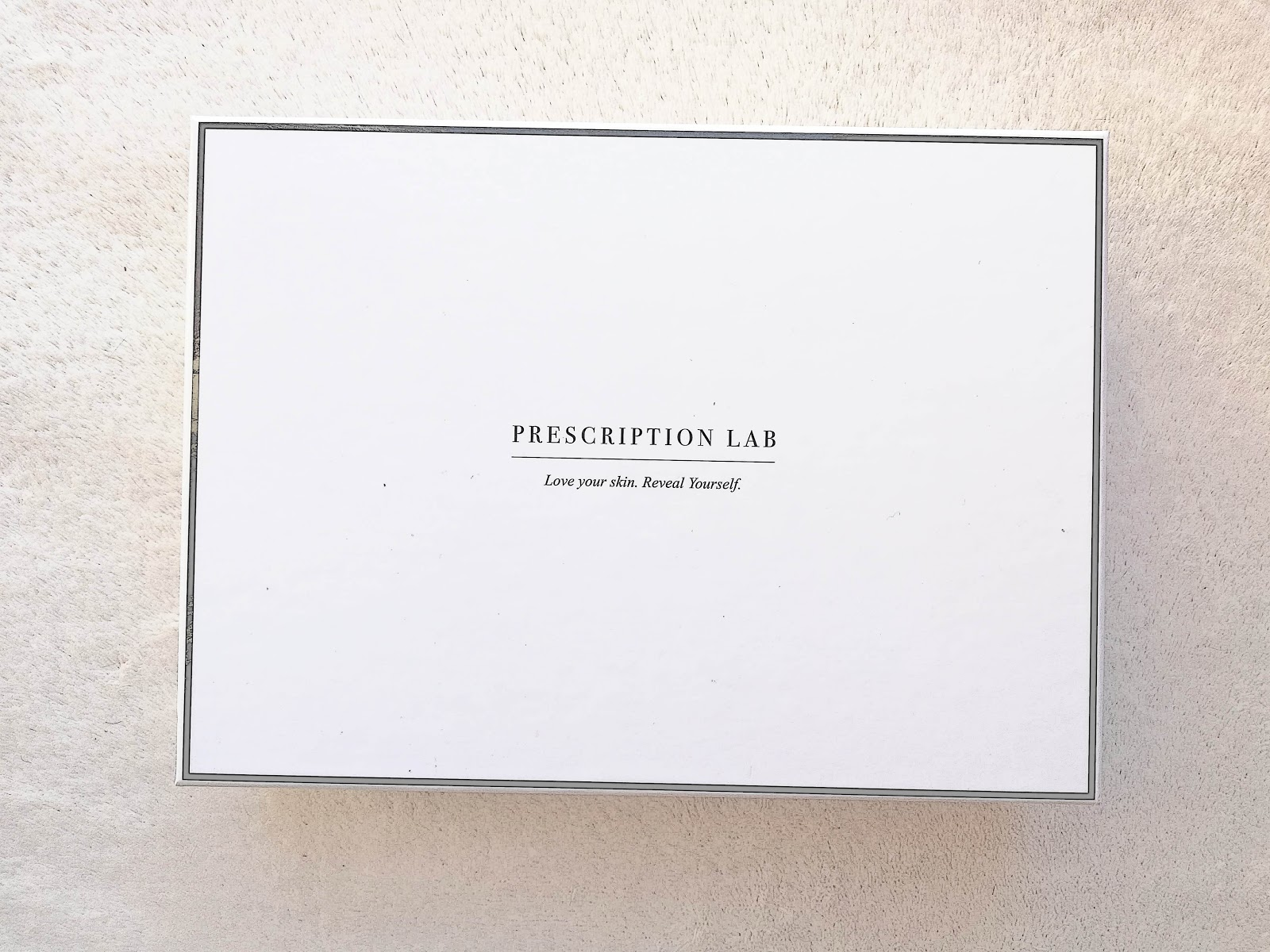 Box Prescription Lab / Janvier 2019 (+code promo)