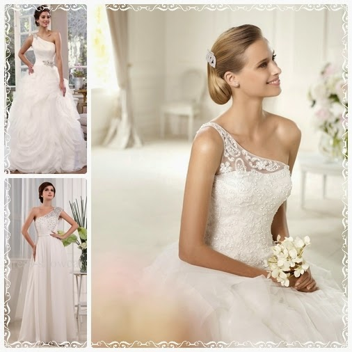 one-shoulder-wedding-dress