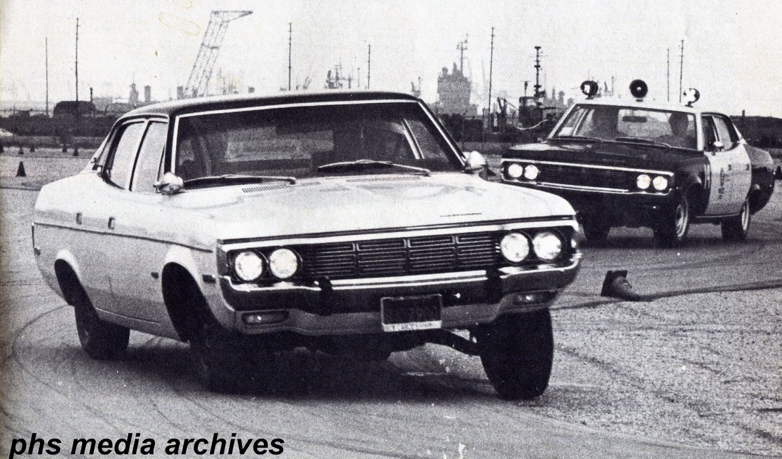 Lapd Test Runs Of A New Matador With Mopar Transmission The Change In Spec Meant Car Had To Re Qualify Which It Did Flying Colors