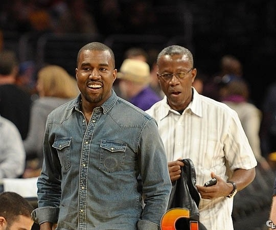 Kanye West's Father Reportedly Diagnosed with Cancer
