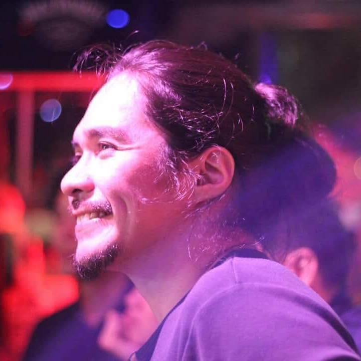 Razorback drummer Brian Velasco