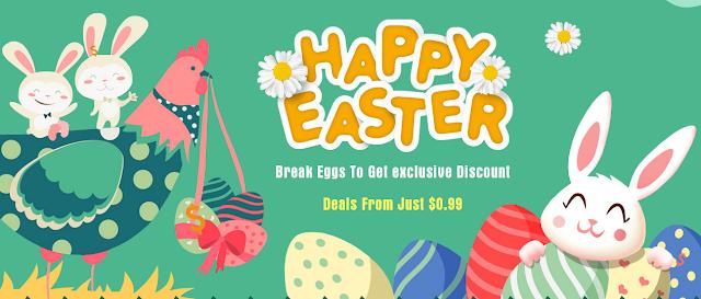 Promoção Happy Easter Tomtop