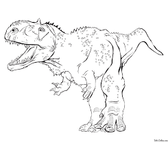 Best Of T-Rex Tyrannosaurus Coloring Pages For Kids
