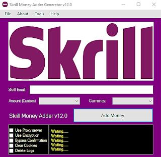 Skrill Money Adder v12 0 - Mustin Hack